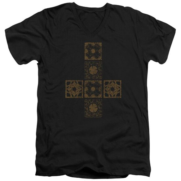 Hellraiser Lemarchands Puzzle Box Short Sleeve Adult V Neck T-Shirt