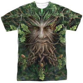 Anne Stokes Oak King Short Sleeve Adult Poly Crew T-Shirt