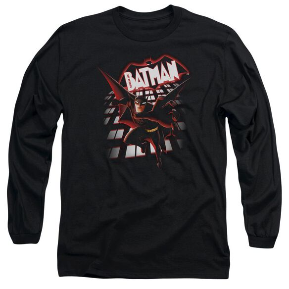 Beware The Batman From The Top Long Sleeve Adult T-Shirt