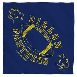 Friday Night Lights Dillon Panthers Poly 22 X22 Bandana