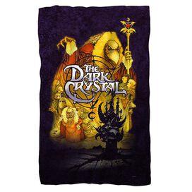 Dark Crystal Poster Fleece Blanket