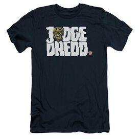 Judge Dredd Logo Short Sleeve Adult T-Shirt