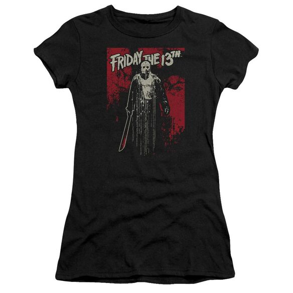 Friday The 13 Th Drip Hbo Short Sleeve Junior Sheer T-Shirt