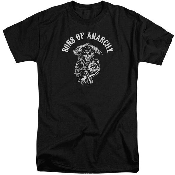 Sons Of Anarchy Soa Reaper Short Sleeve Adult Tall T-Shirt