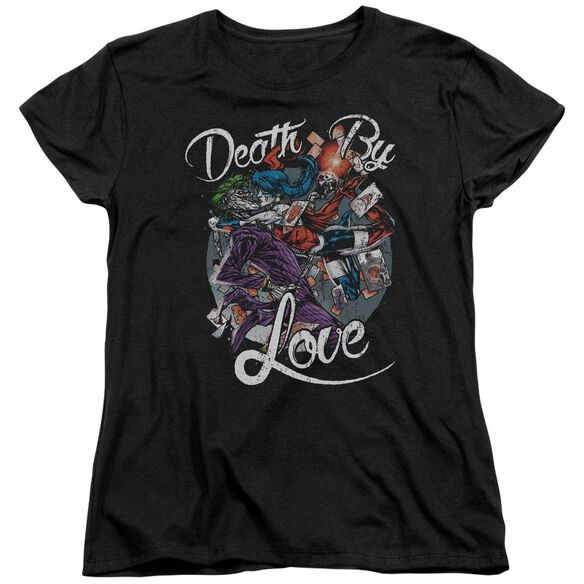 Batman Death By Love Short Sleeve Womens Tee T-Shirt