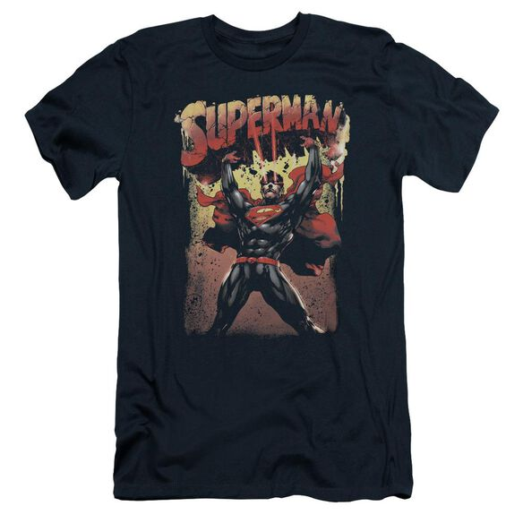 Superman Lift Up Short Sleeve Adult T-Shirt