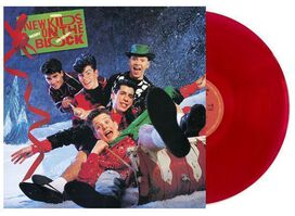 New Kids On The Block - Merry Merry Christmas [Exclusive Red Vinyl]