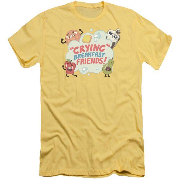 Steven Universe Crying Breakfast Friends Short Sleeve Adult T-Shirt