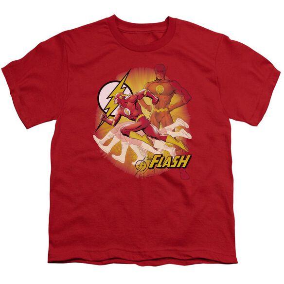 Jla Lightning Fast Short Sleeve Youth T-Shirt