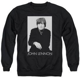 John Lennon Ex Beatle Adult Crewneck Sweatshirt