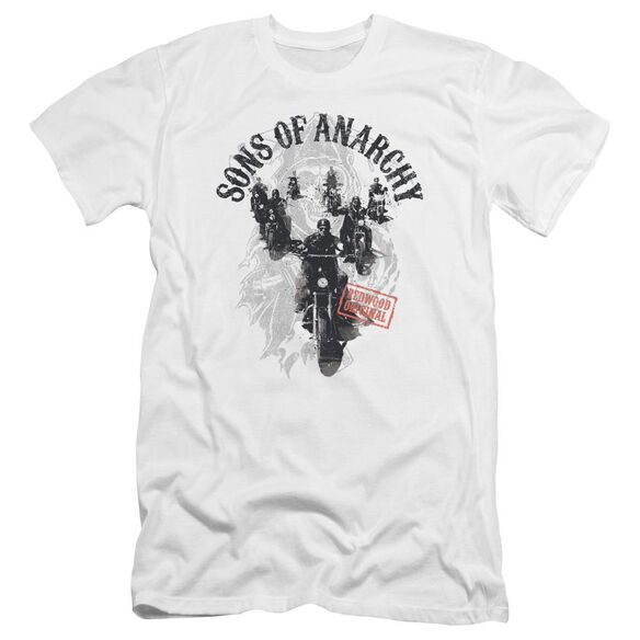 Sons Of Anarchy Reapers Ride Premuim Canvas Adult Slim Fit