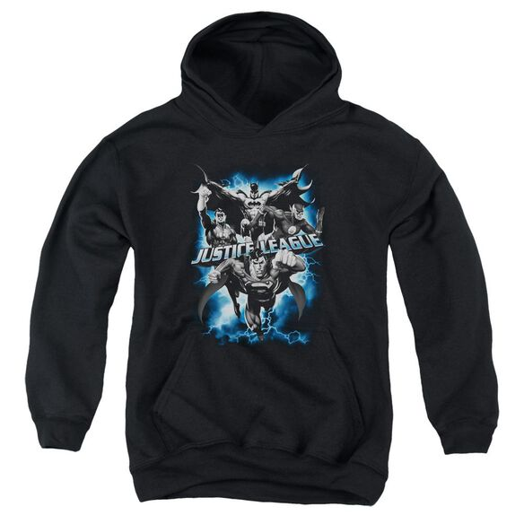 Jla Justice Storm Youth Pull Over Hoodie