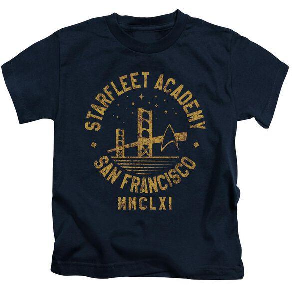 Star Trek Collegiate Bridge Short Sleeve Juvenile Navy T-Shirt