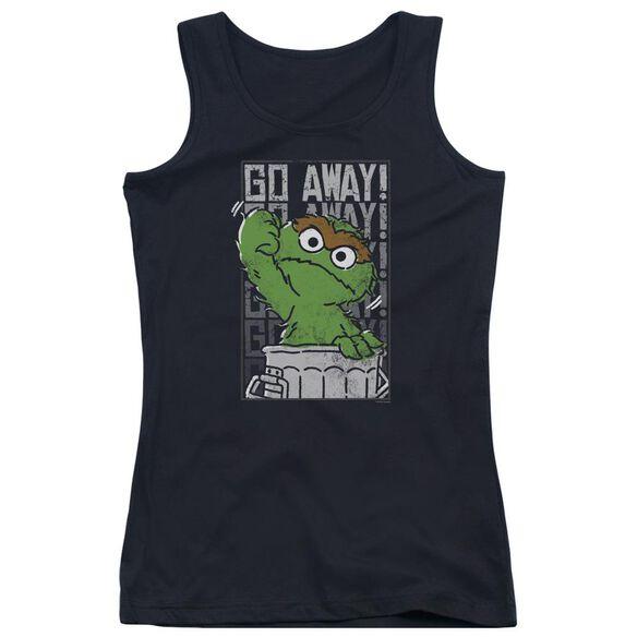 Sesame Street Go Away Juniors Tank Top