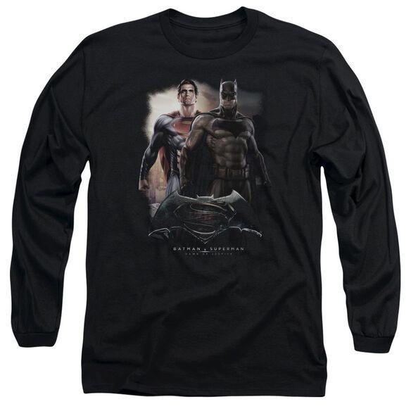 Batman Vs Superman Dawn Long Sleeve Adult T-Shirt