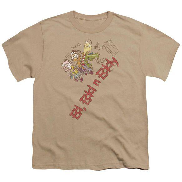 Ed Edd N Eddy Downhill Short Sleeve Youth T-Shirt