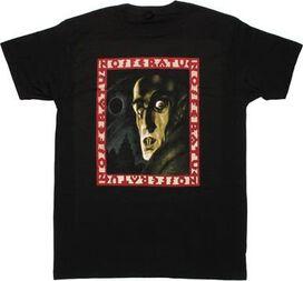 Nosferatu Name Frame T-Shirt Sheer