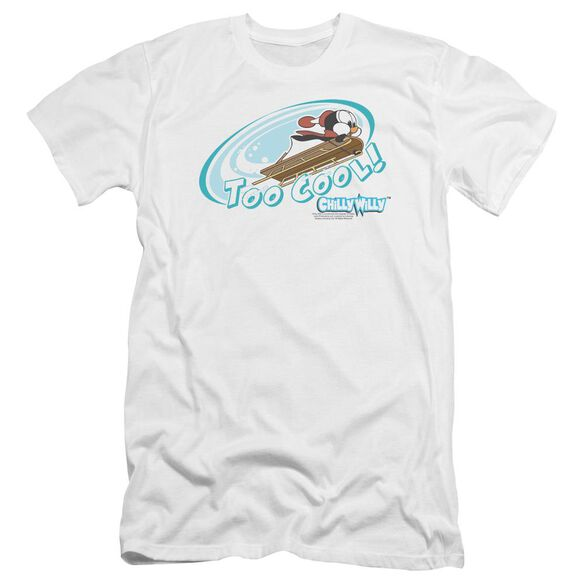 Chilly Willy Too Cool Premuim Canvas Adult Slim Fit