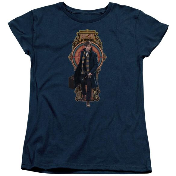 Fantastic Beasts Newt Scamander Short Sleeve Womens Tee T-Shirt