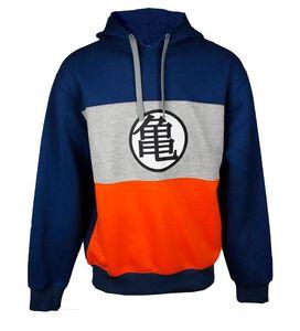 Dragon Ball Z Symbol Colorblock Hoodie