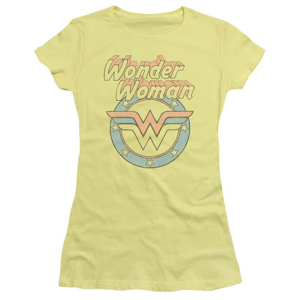 Dco Faded Wonder Short Sleeve Junior Sheer T-Shirt