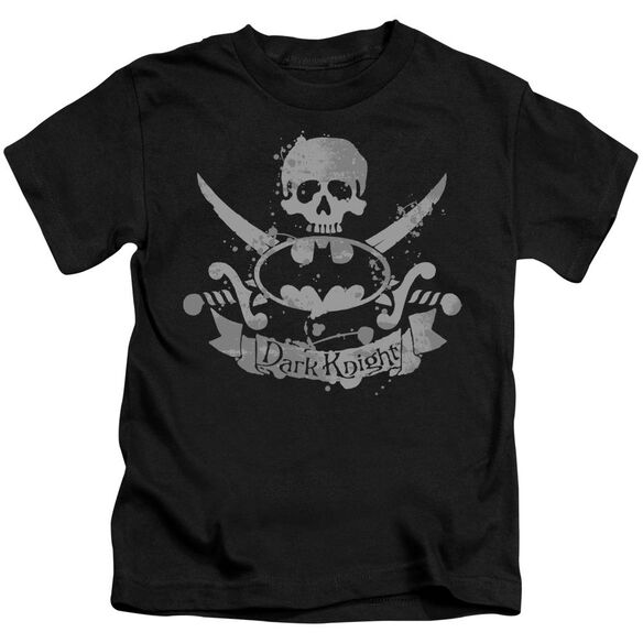 Batman Dark Pirate Short Sleeve Juvenile Black Md T-Shirt