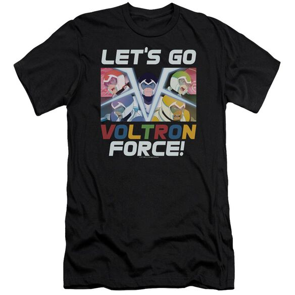Voltron Lets Go Hbo Short Sleeve Adult T-Shirt