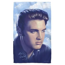 Elvis Presley Big Portrait Golf Towel W Grommet