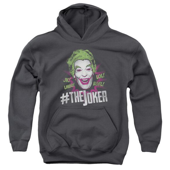Batman Classic Tv #Joker Youth Pull Over Hoodie
