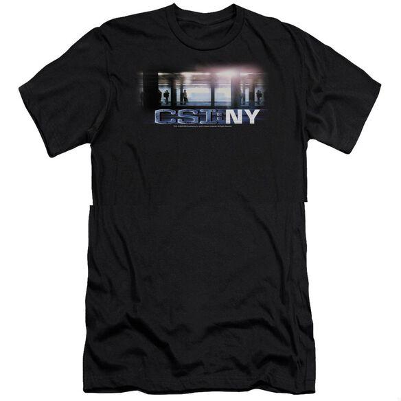 CSI NEW YORK SUBWAY - S/S ADULT 30/1 - BLACK T-Shirt