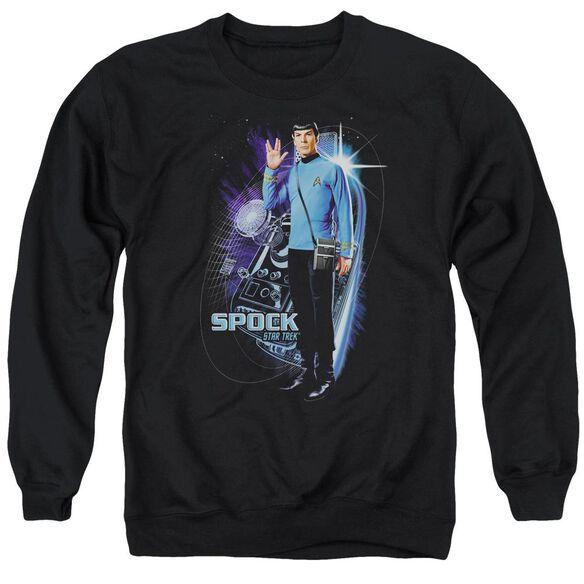 Star Trek Galactic Spock Adult Crewneck Sweatshirt
