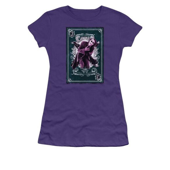 Dark Knight Quid Ita Serius Short Sleeve Junior Sheer T-Shirt