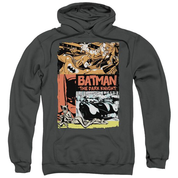 Batman Old Movie Poster Adult Pull Over Hoodie