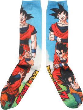 Dragon Ball Z Goku's Family Knee High Socks
