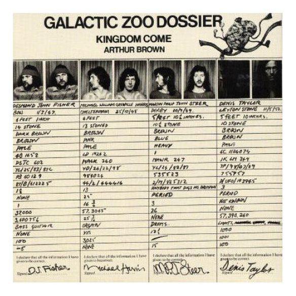Arthur Brown - Galactic Zoo Dossier