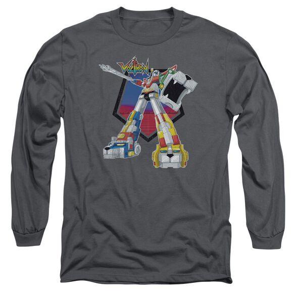 Voltron Blazing Sword Long Sleeve Adult T-Shirt