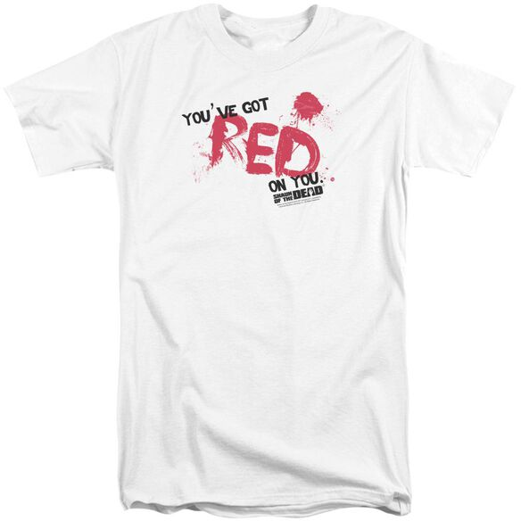 Shaun Of The Dead Red On You Short Sleeve Adult Tall T-Shirt