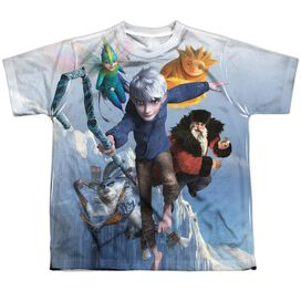 Rise Of The Guardians Together Now Short Sleeve Youth Poly Crew T-Shirt