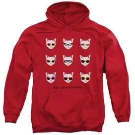 Reo Speedwagon Cattitude Adult Pull Over Hoodie