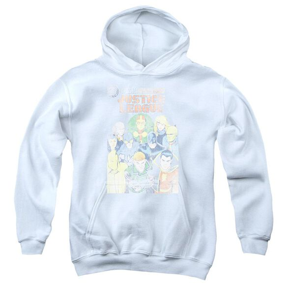 Jla Justice League #1 Cover Youth Pull Over Hoodie