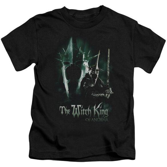 Lor Witch King Short Sleeve Juvenile Black T-Shirt
