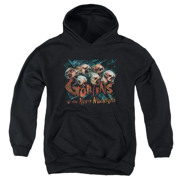 The Hobbit Misty Goblins Youth Pull Over Hoodie