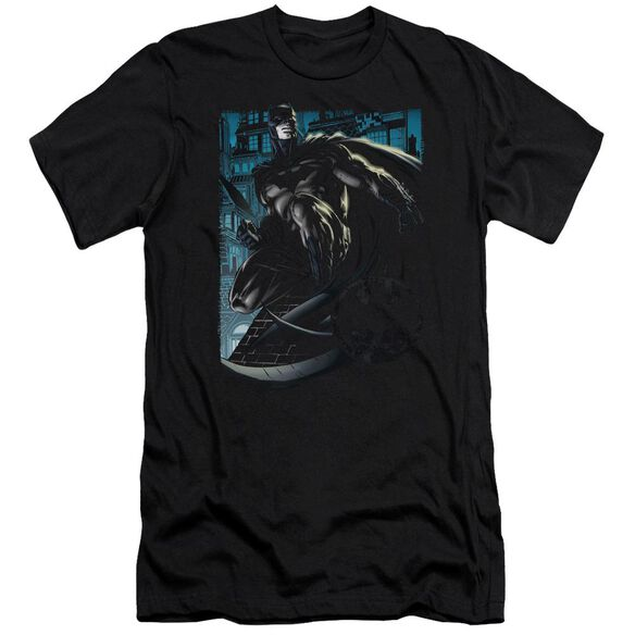 Batman Knight Falls In Gotham Short Sleeve Adult T-Shirt