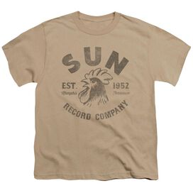 Sun Vintage Logo Short Sleeve Youth T-Shirt