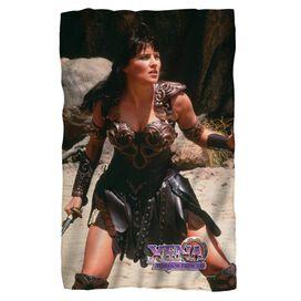 Xena Warrior Fleece Blanket