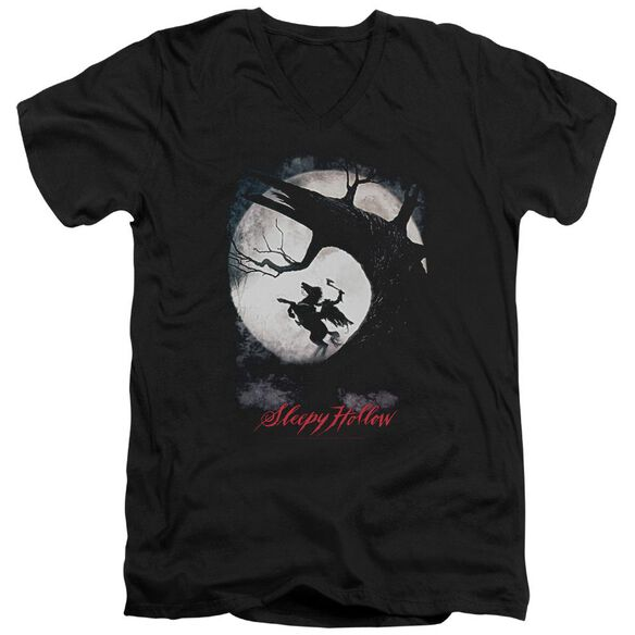 Sleepy Hollow Poster Short Sleeve Adult V Neck T-Shirt