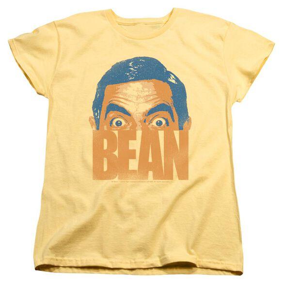 Mr Bean Bean Short Sleeve Womens Tee T-Shirt