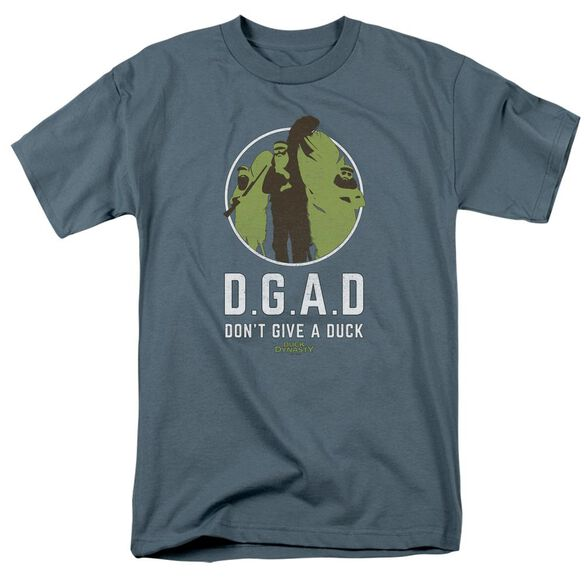 Duck Dynasty D.G.A.D. Short Sleeve Adult Slate T-Shirt