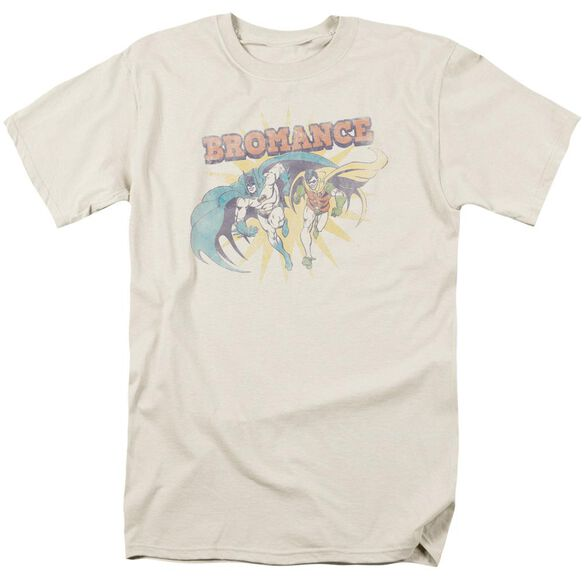 Dc Bromance Short Sleeve Adult Cream T-Shirt