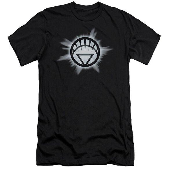 Green Lantern White Glow Short Sleeve Adult T-Shirt